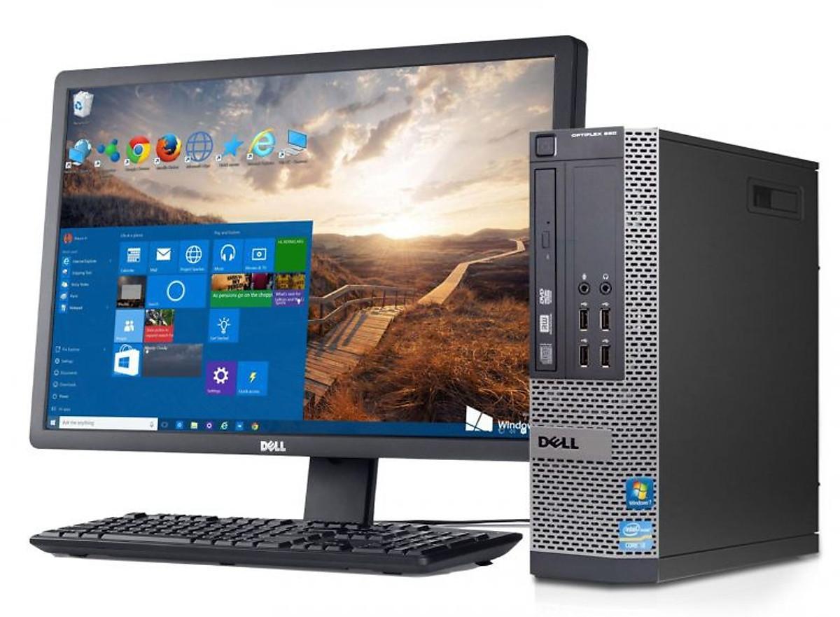 Bộ máy tính để bàn Dell Optiplex Core i5 3470, Ram 8gb, SSD 120GB Và Màn hình máy tính Dell 21.5 inch - Hàng Nhập Khẩu | Tiki