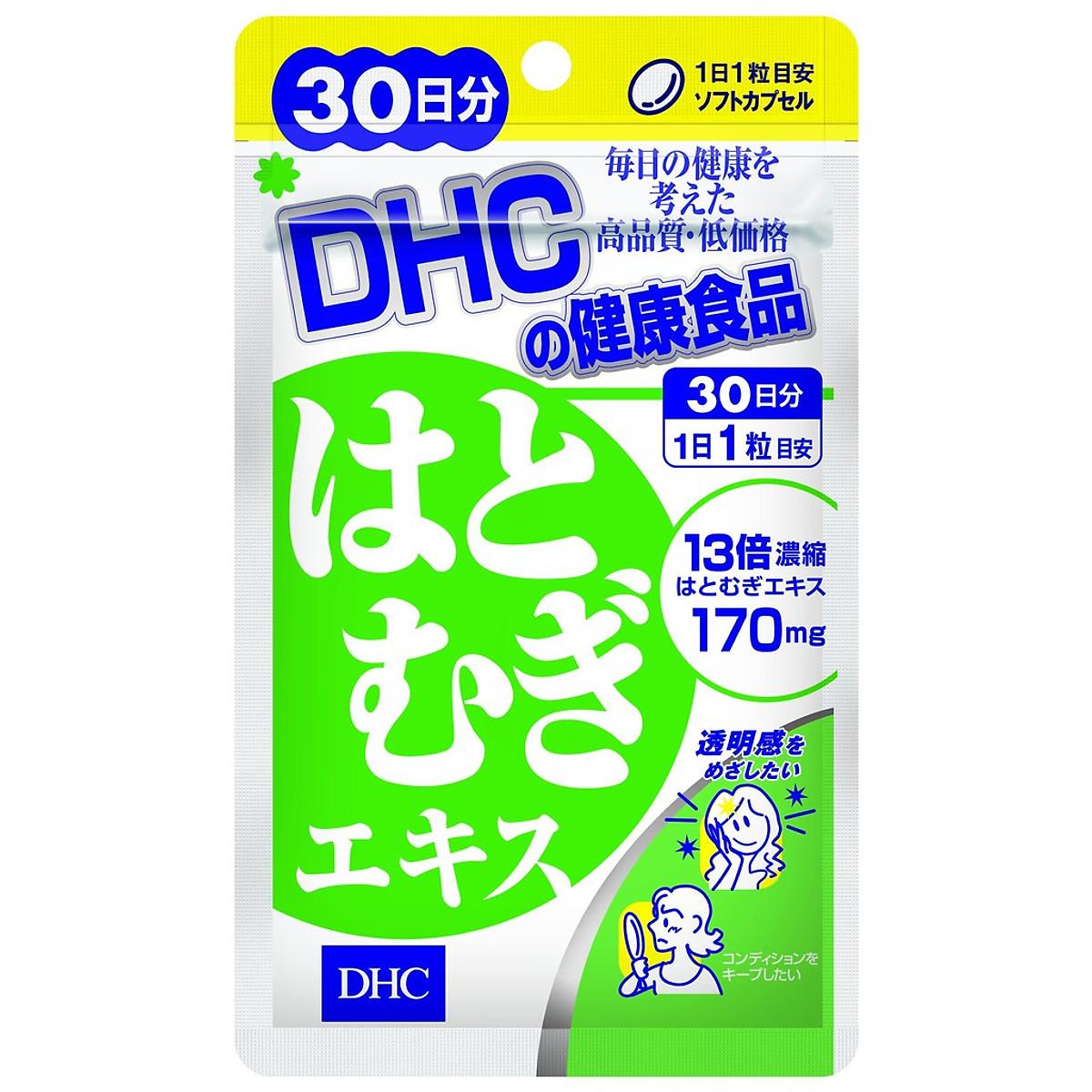 Thực phẩm bảo vệ sức khỏe Viên uống Trắng da DHC Nhật Bản Adlay Extract    Tiki.vn