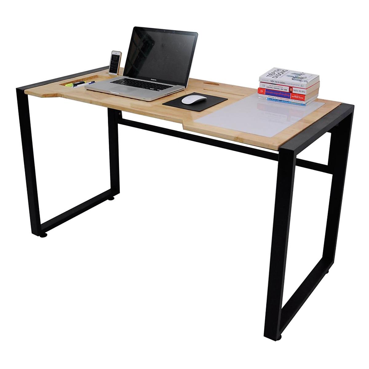Bàn Ghi Chú Homeoffice Notedesk Chân Sắt Viền ND68008 (130 x 60 cm) - 3