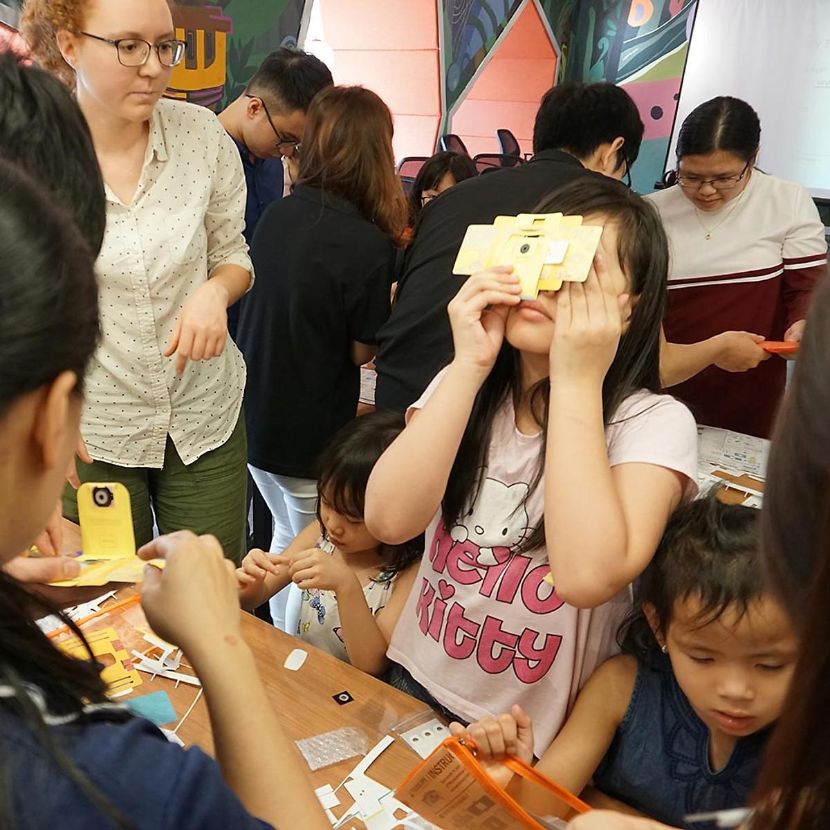 Kính Hiển Vi Giấy Foldscope - Khám phá vi thế giới diệu kỳ