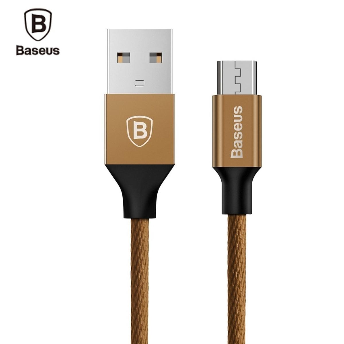 Cáp sạc USB ra Micro USB Baseus Yiven dài 1m - Hàng chính hãng - 1