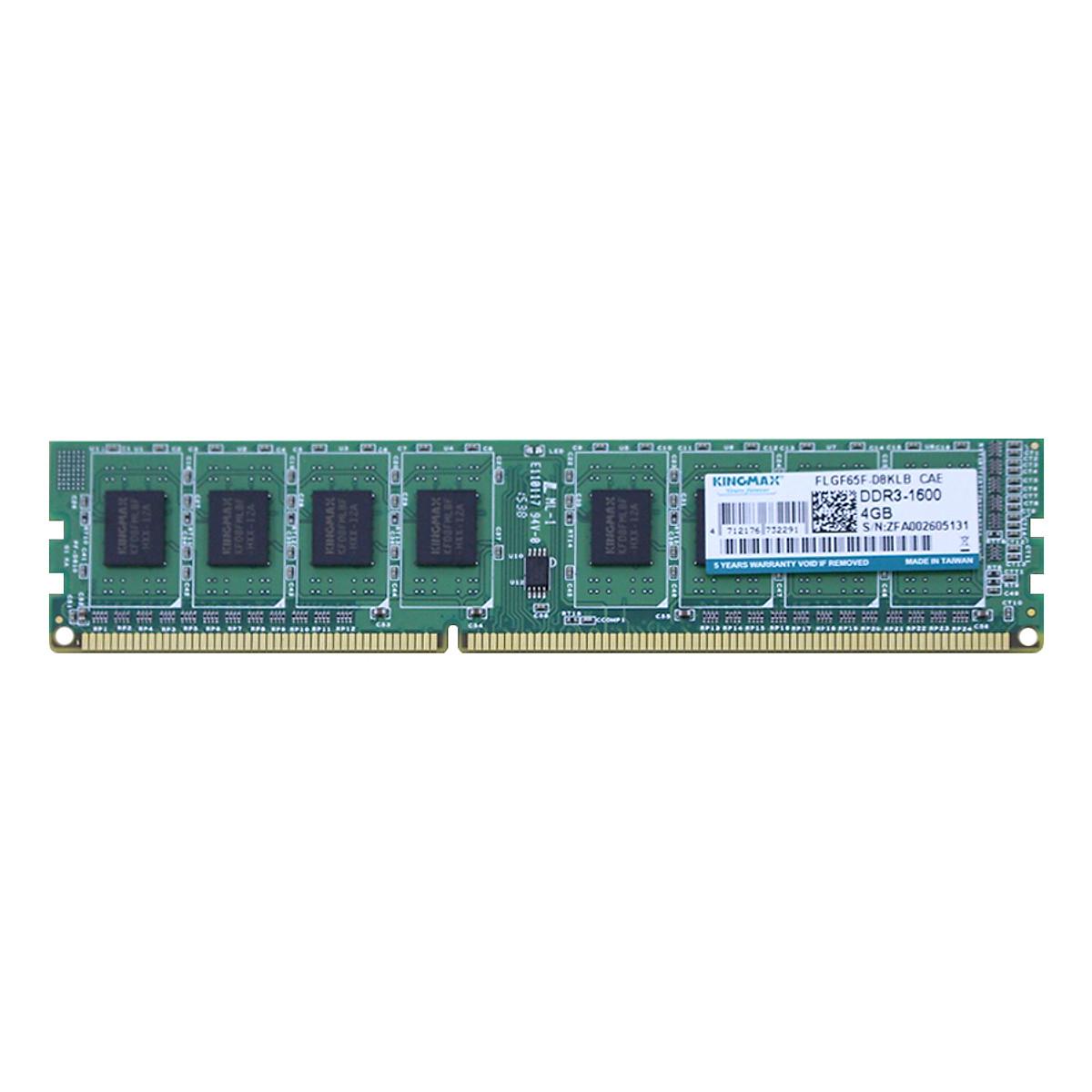 Hình đại diện sản phẩm RAM PC Kingmax 4GB Bus 1600 DDR3 - Hàng Chính Hãng