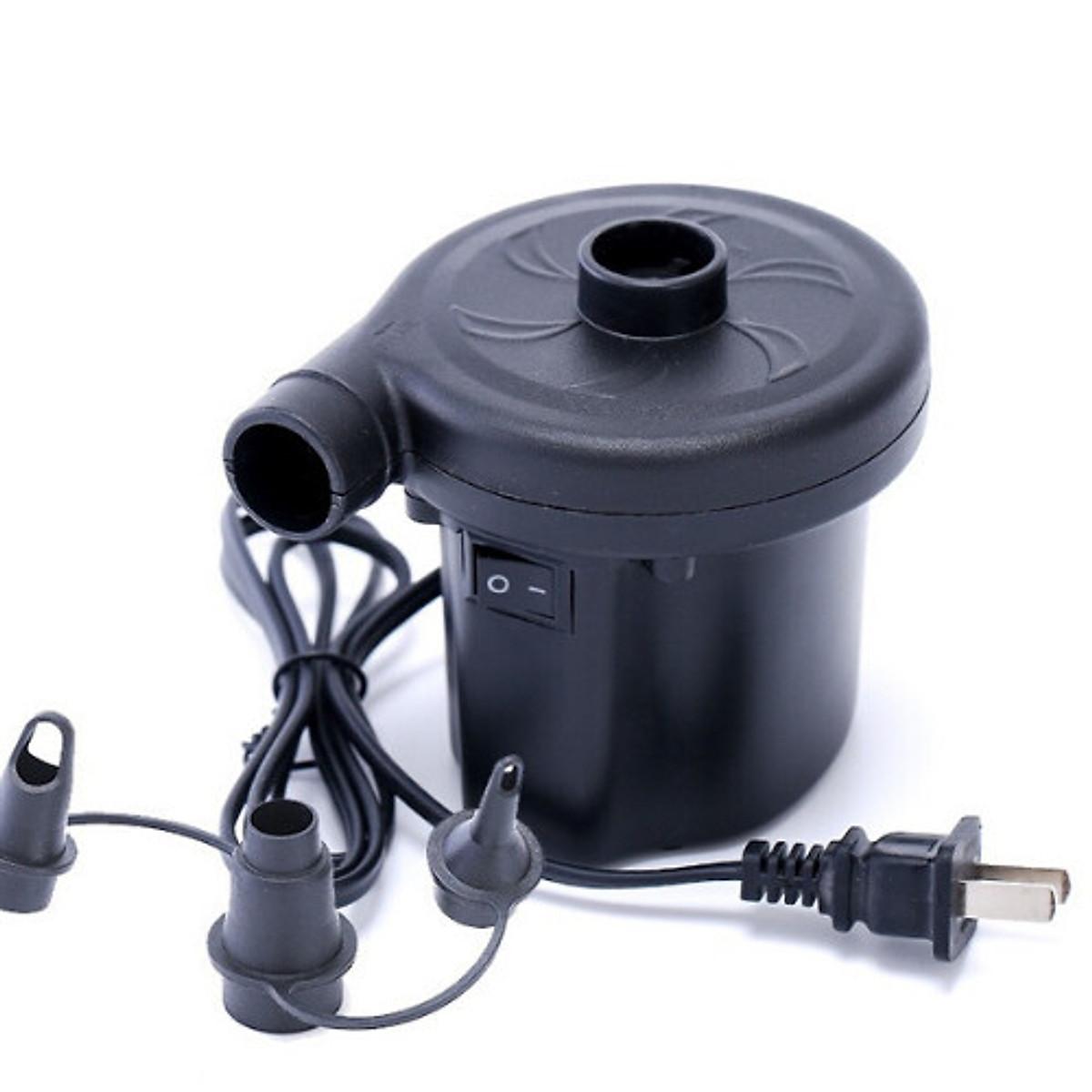 Bơm điện 2 chiều thổi, hút chân không chuyên dụng để bơm phao bơi, ghế, nệm hơi......