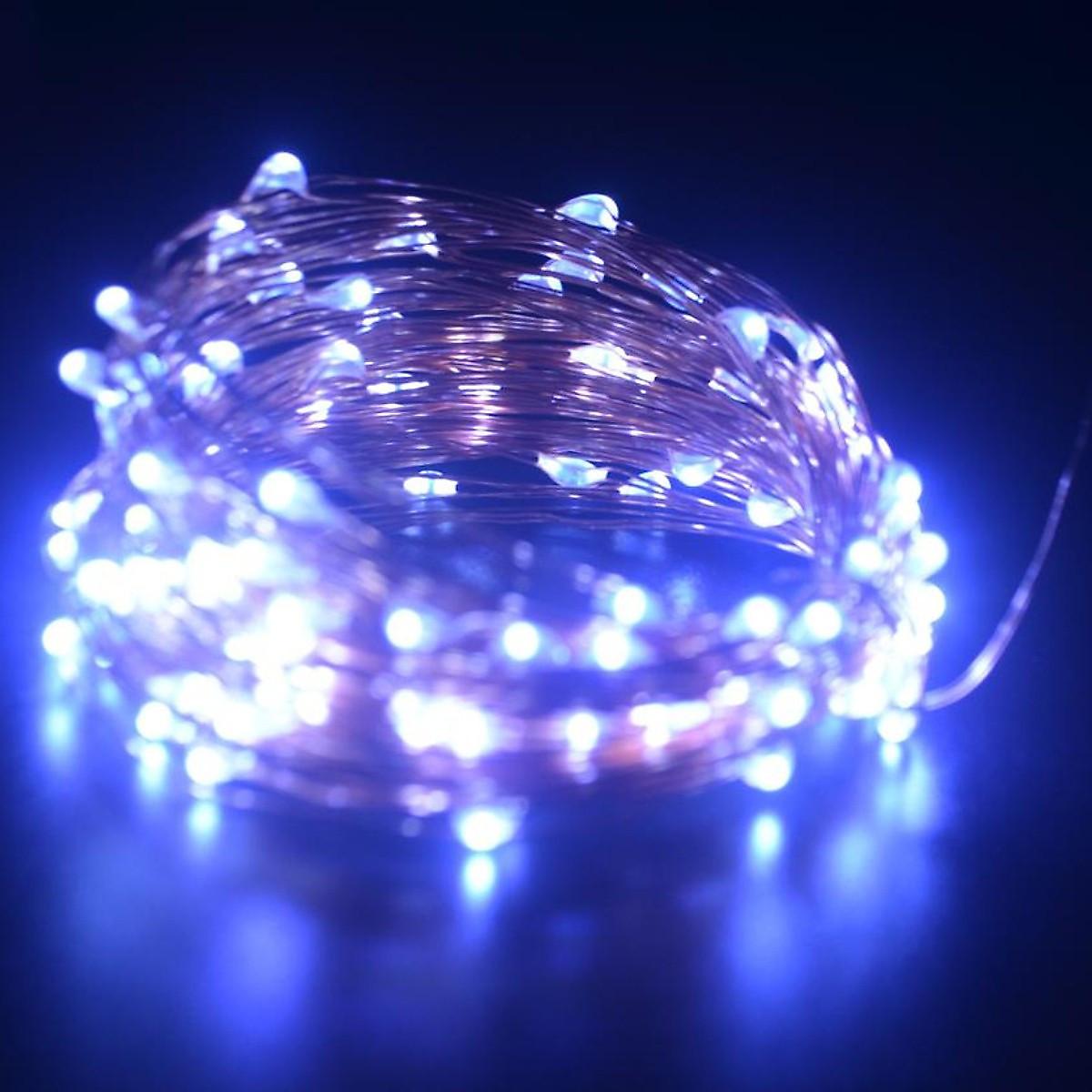 Dây đèn Fairy Light đom đóm chipsbling 10 mét dùng pin AA 9