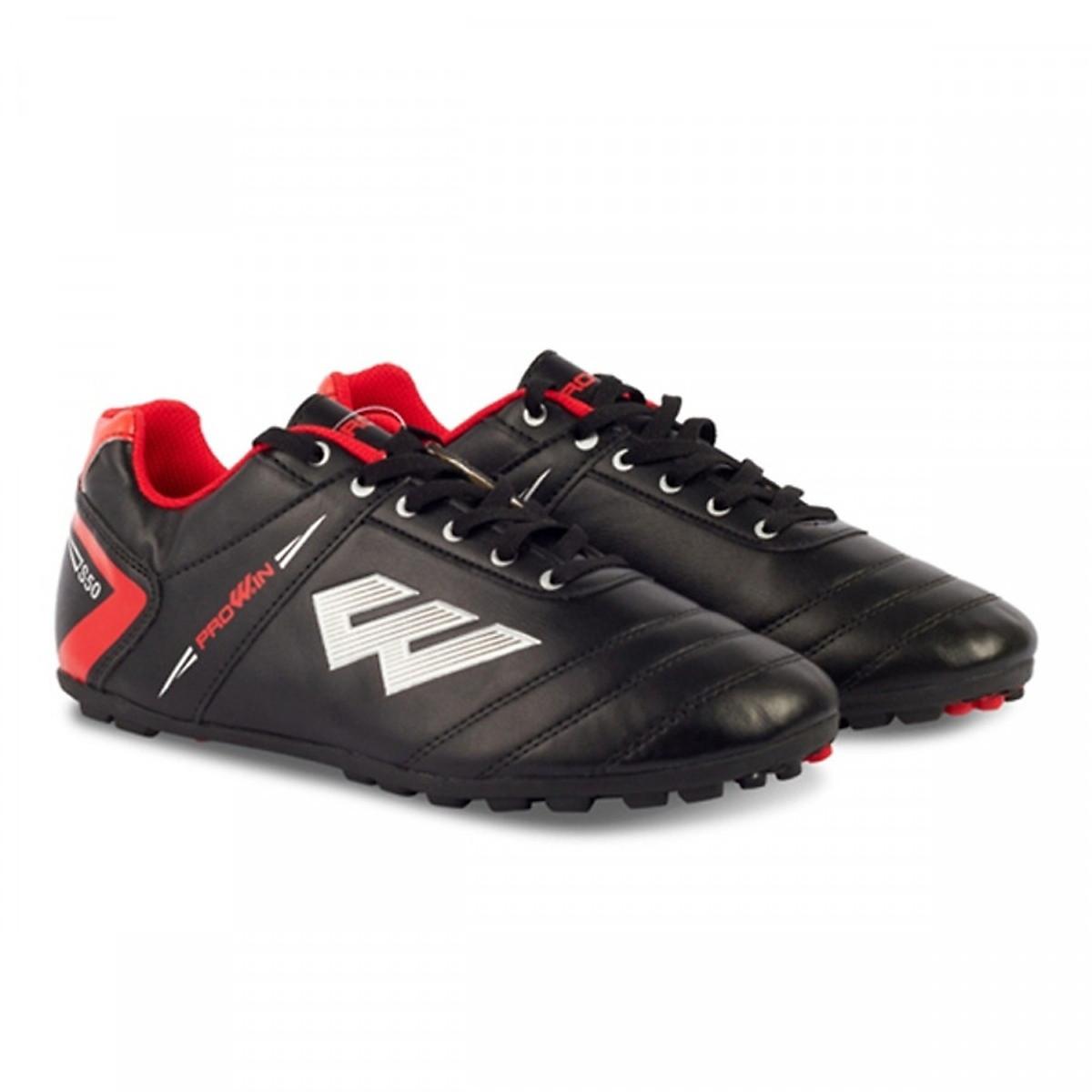 Giày Đá Bóng Sân Cỏ Nhân Tạo Prowin S50 Đen/Đỏ