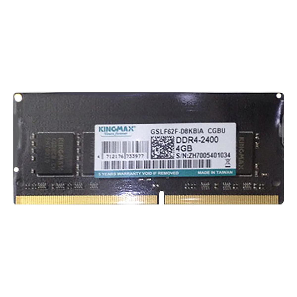 Hình đại diện sản phẩm RAM Laptop Kingmax 4GB 2400 DDR4 - Hàng Chính Hãng