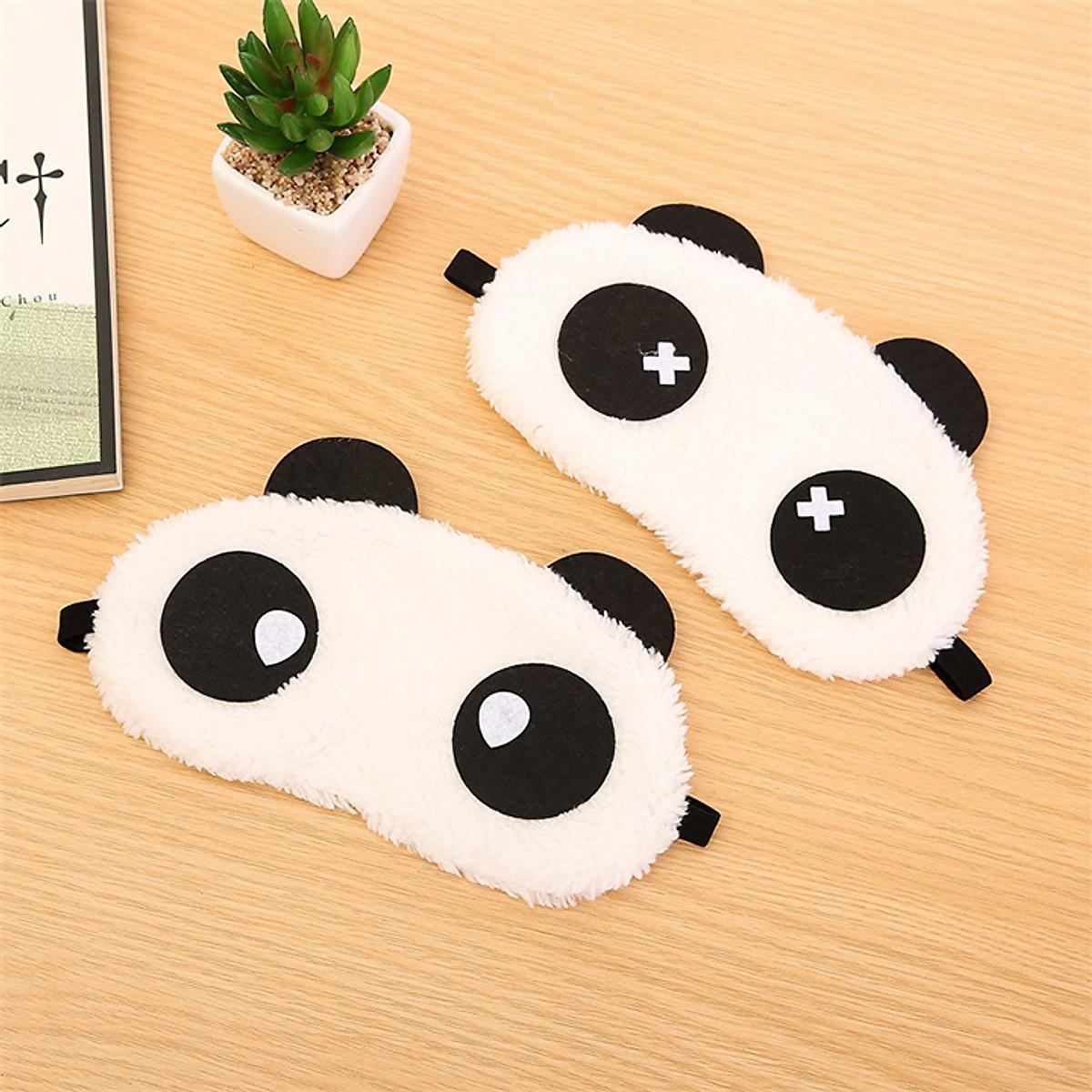 Tấm che mắt ngủ gấu hình panda (ngẫu nhiên)