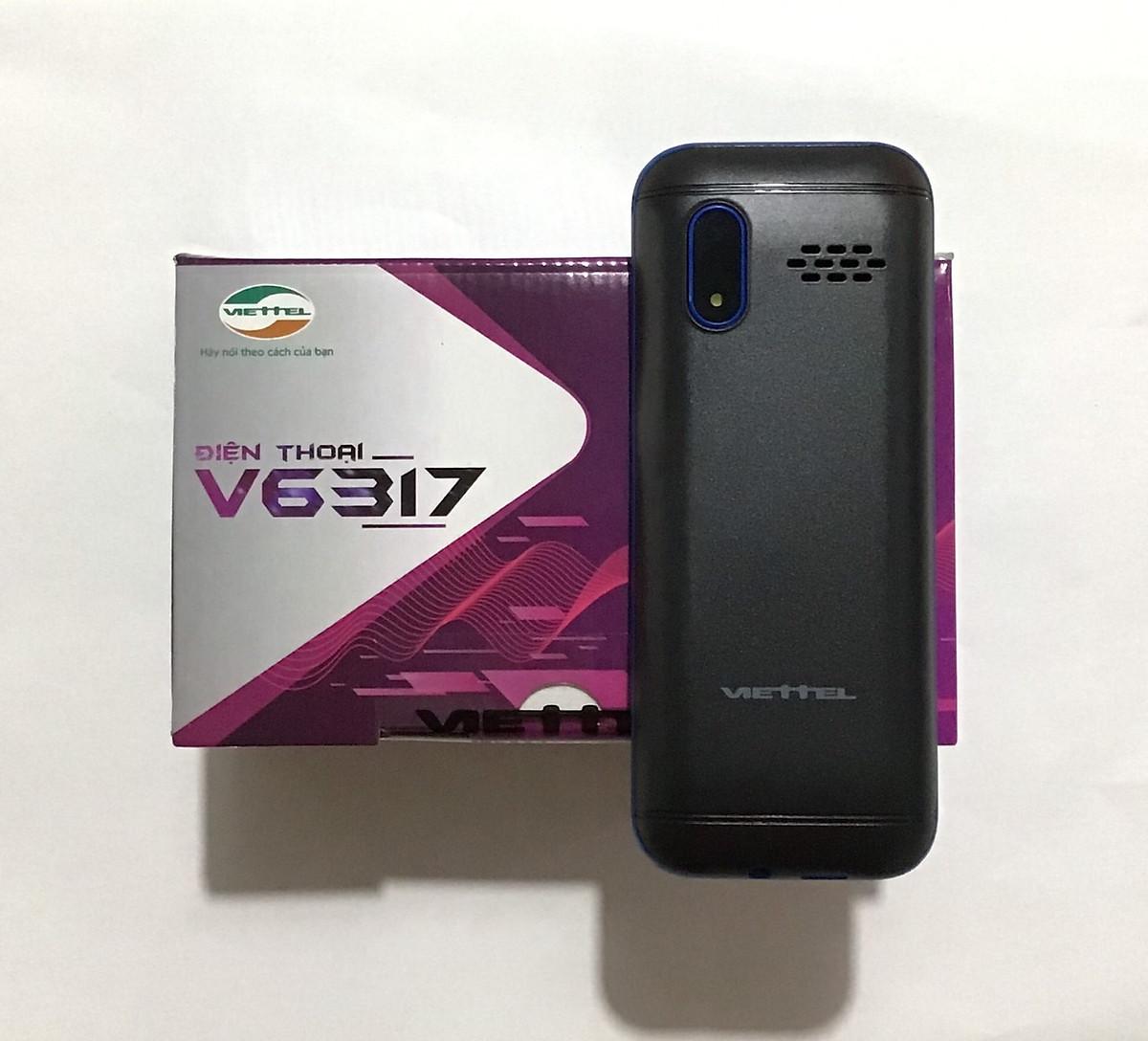 Điện Thoại 2 Sim Viettel V6317 - Hàng Chính Hãng - 1