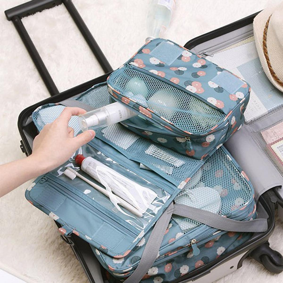 Túi đựng mỹ phẩm, đồ du lịch cá nhân - 4
