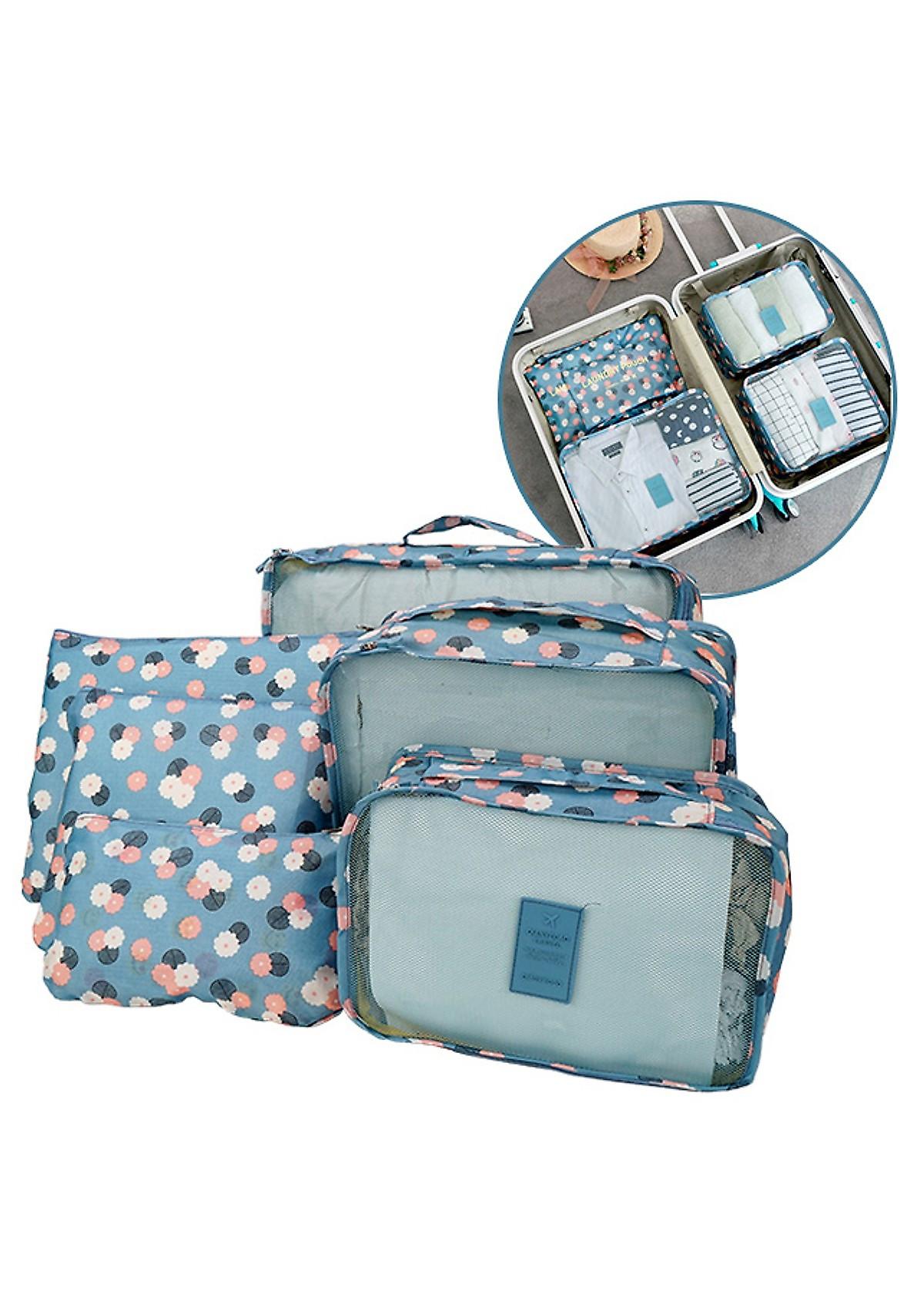 Set 6 túi du lịch đựng đồ chống thấm - 5