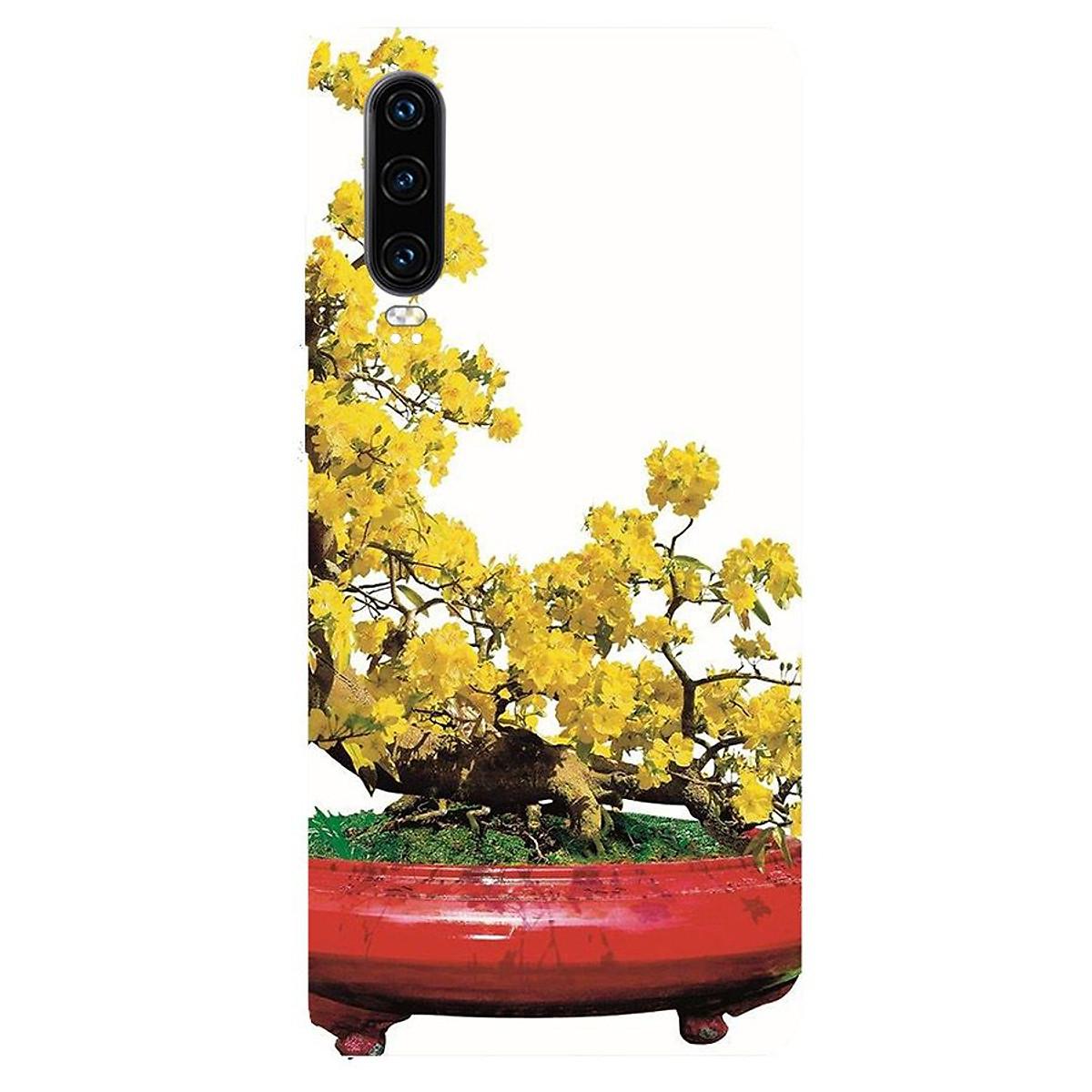 Ốp điện thoại Huawei Y7 Pro 2019 - Tranh Mai Đào MS MDAO023-Hàng Chính Hãng