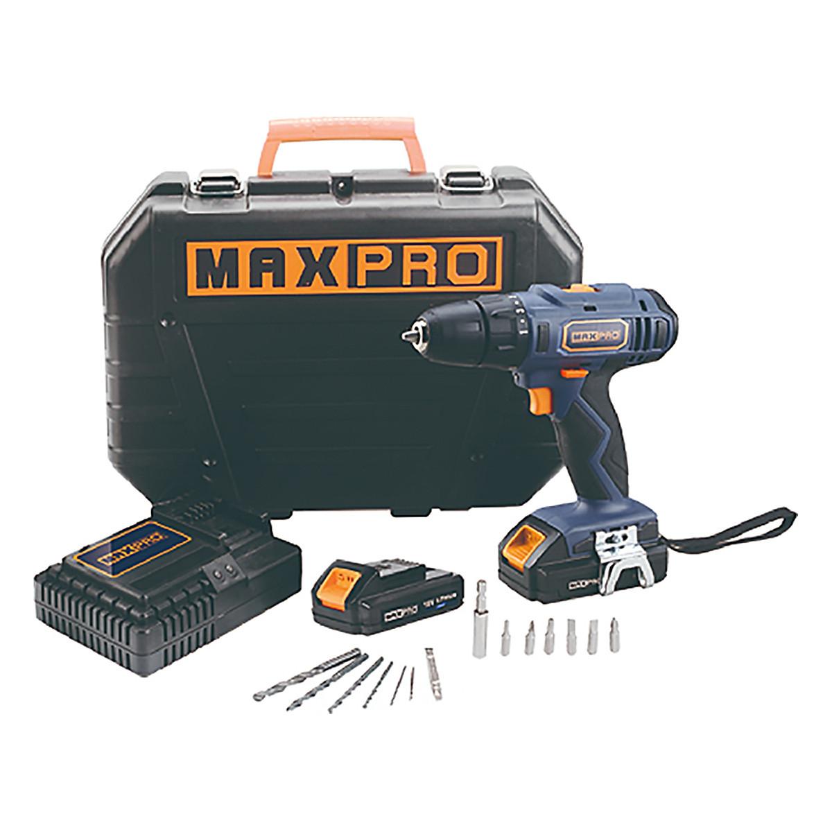 Máy Khoan Pin Maxpro MPCD18Li/2 (10mm)