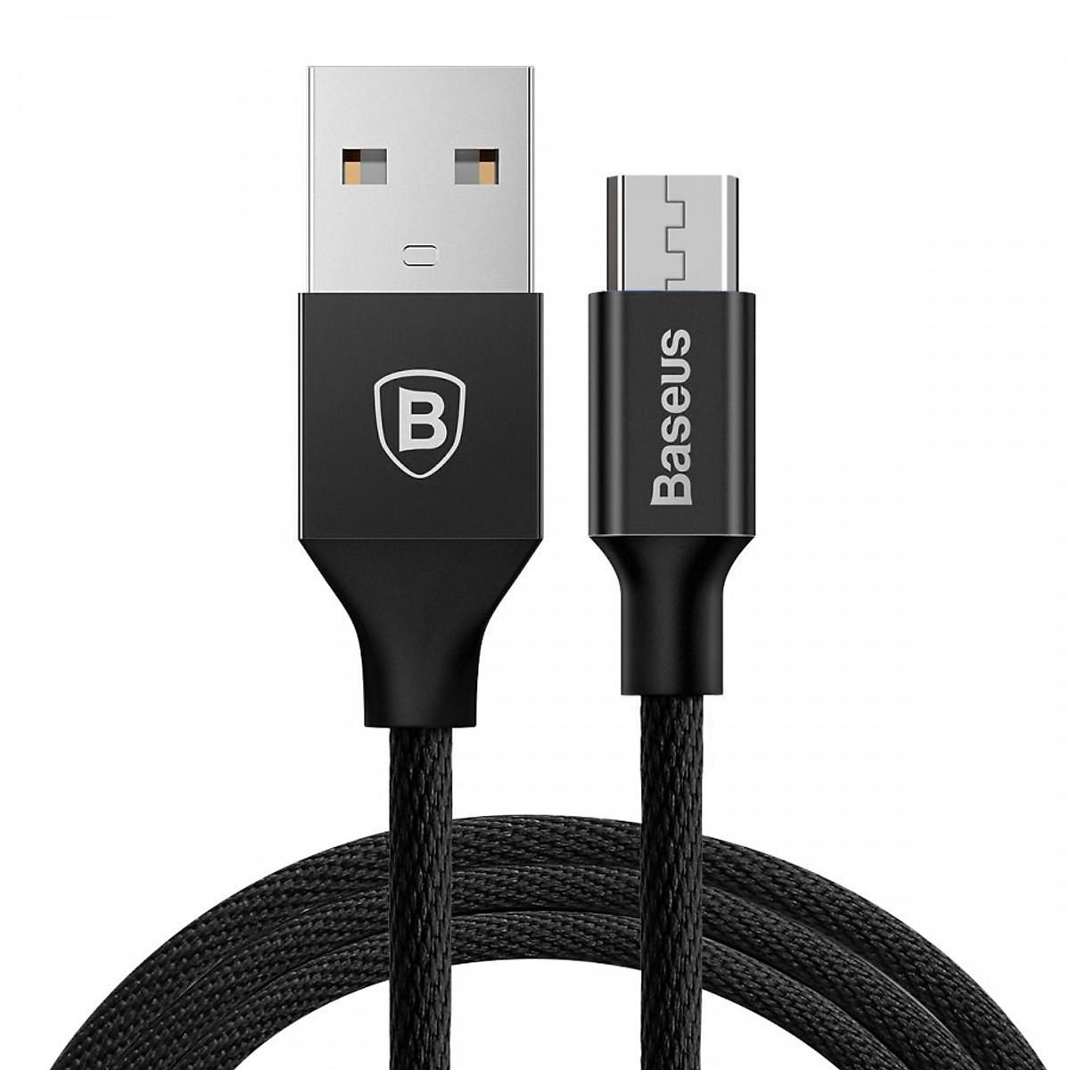 Cáp sạc USB ra Micro USB Baseus Yiven dài 1m - Hàng chính hãng 18