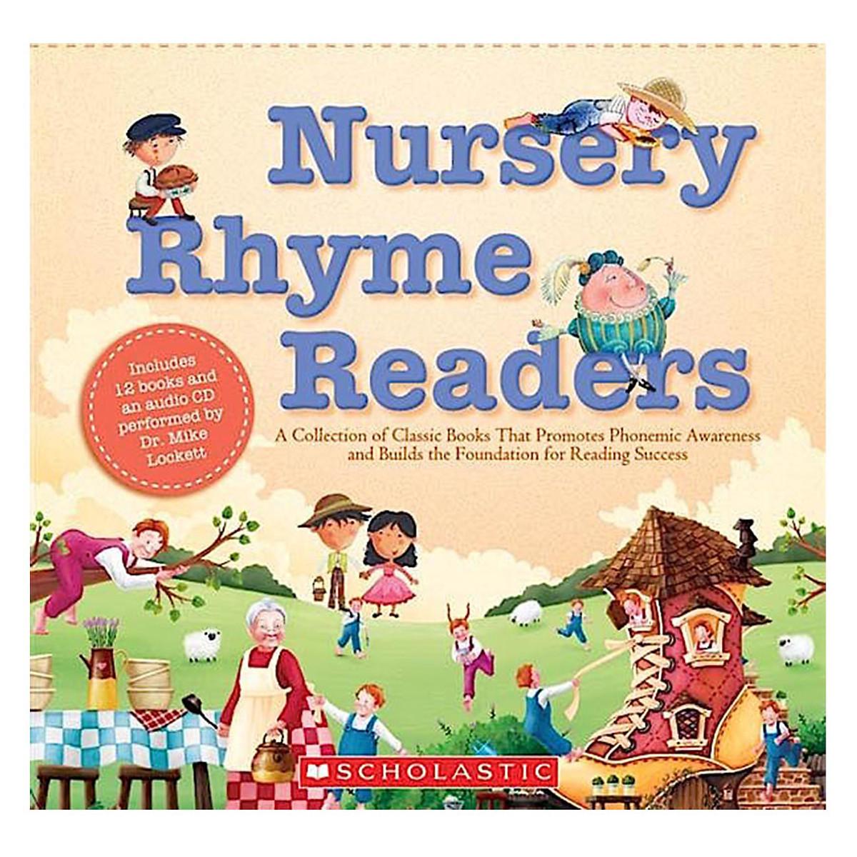 Nursery Rhyme Readers Box Set With Cd