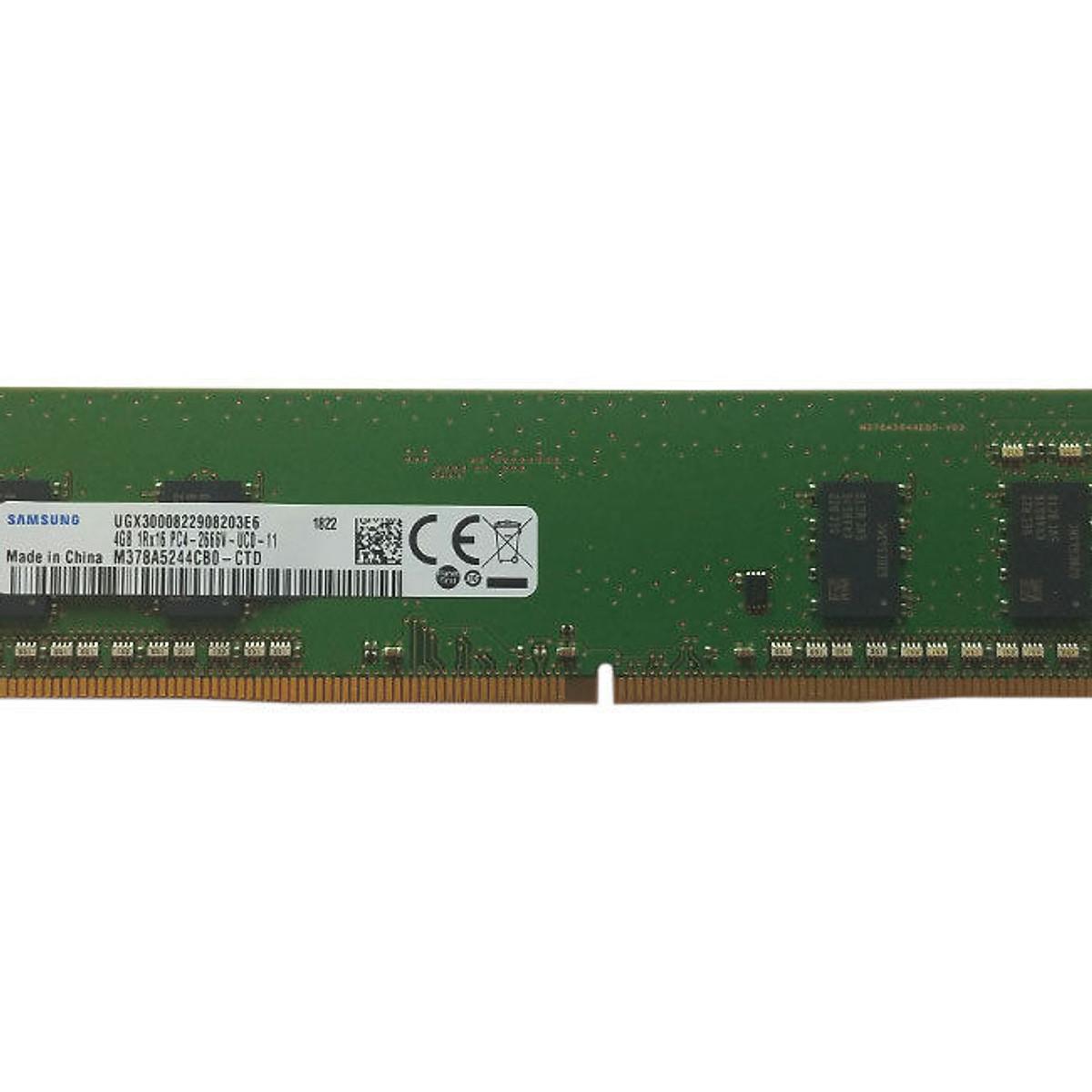 Hình đại diện sản phẩm RAM PC DDR4 Samsung 4GB Bus 2666 - Hàng Nhập Khẩu