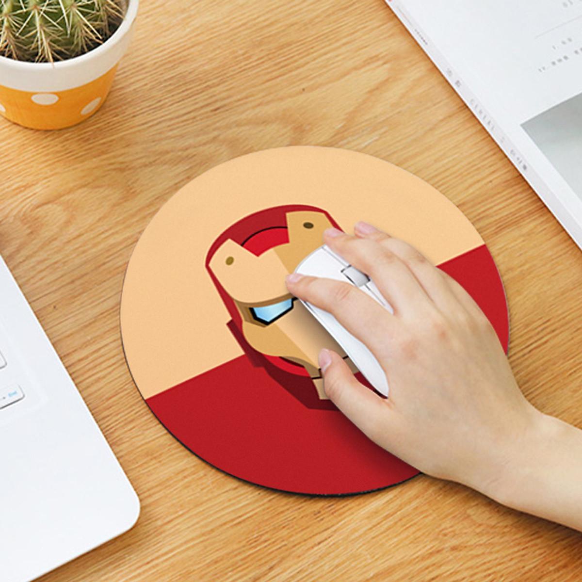 Bảng giá Bộ sưu tập Miếng lót chuột mousedpad cao su siêu nhạy họa tiết dễ thương (Hình tròn 20cm) Phong Vũ