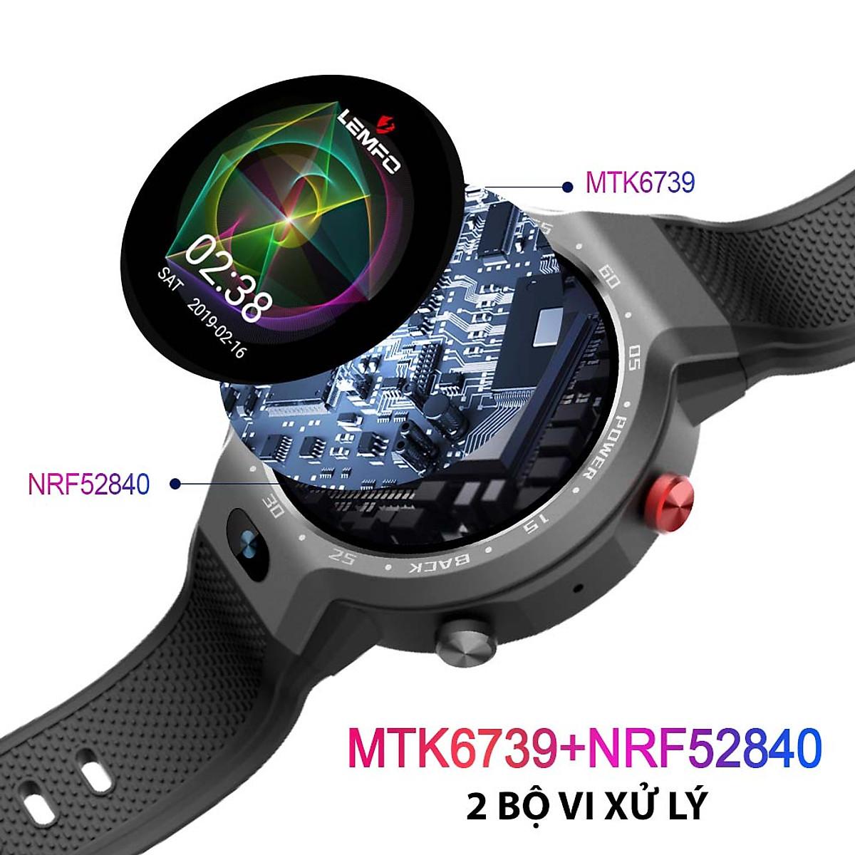 Đồng hồ thông minh gọi điện chống nước Lemfo Lem9 - 2