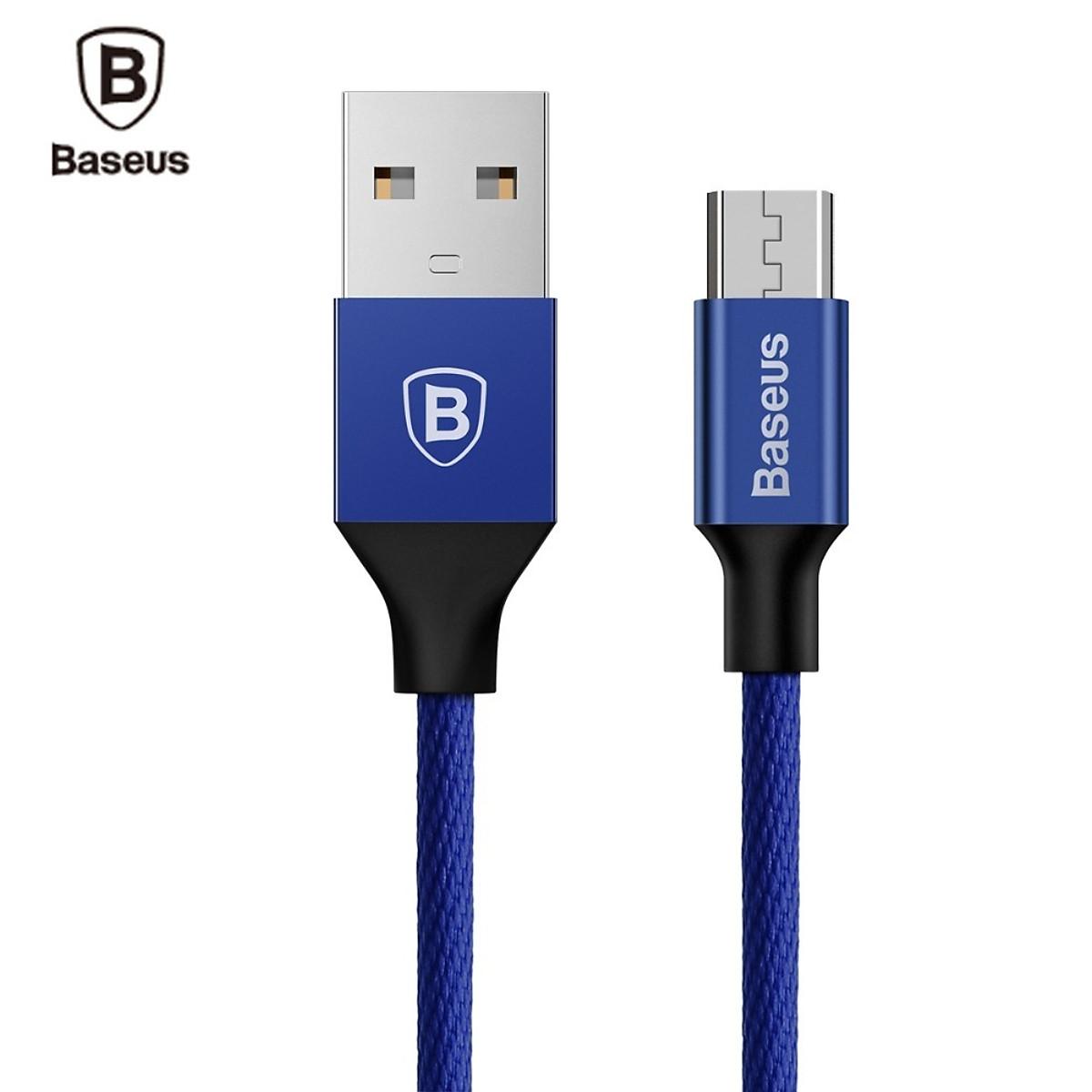 Cáp sạc USB ra Micro USB Baseus Yiven dài 1m - Hàng chính hãng 11