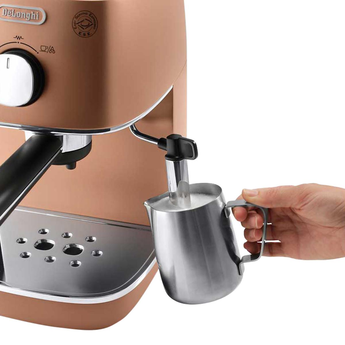 Máy Pha Cà Phê Espresso Distinta Delonghi ECI 341.CP (1100W) - Đồng - Hàng Chính Hãng | undefined | Tiki