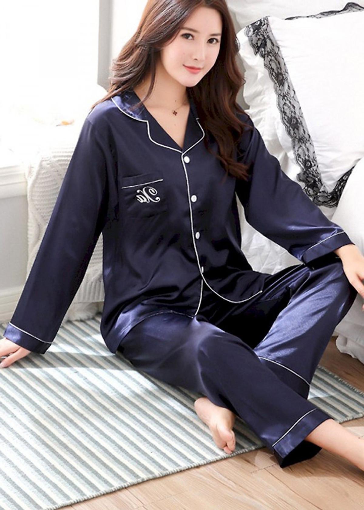 Đồ bộ mặc nhà Nữ chất liệu mềm mại sang chảnh-206 23