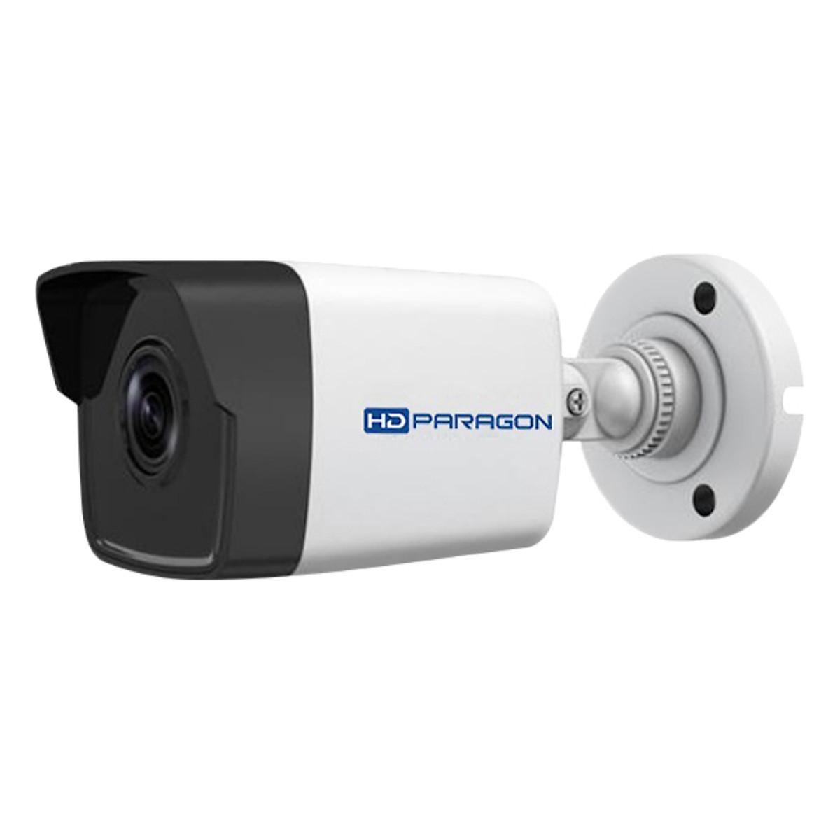 Camera IP HDPARAGON HDS-2043IRP/D 4.0 Megapixel, IR 30m, F4mm, PoE - Hàng Nhập Khẩu