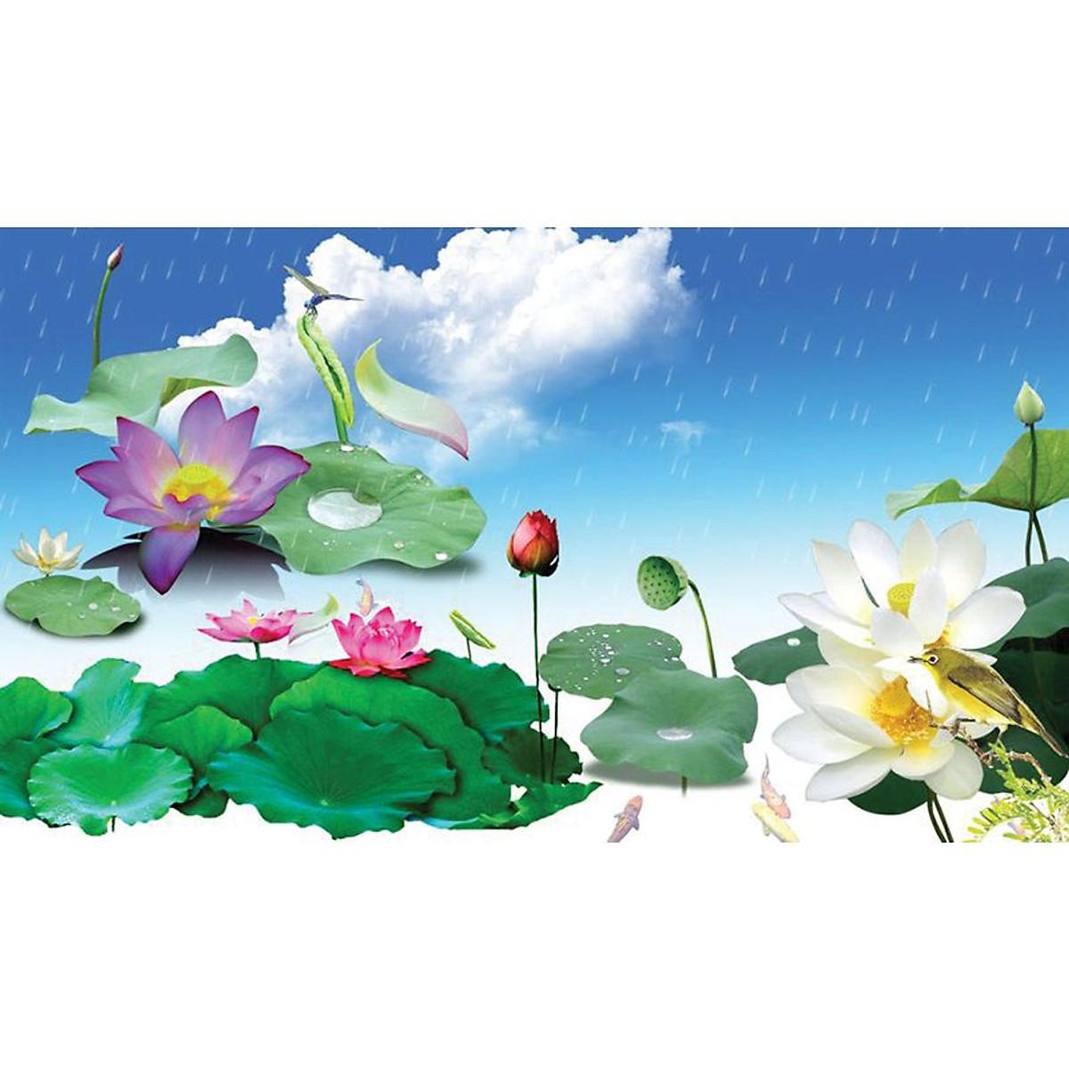 Tranh 3D dán tường | Tranh trang trí nhà cửa | 3D_3DPQ_052 - 1
