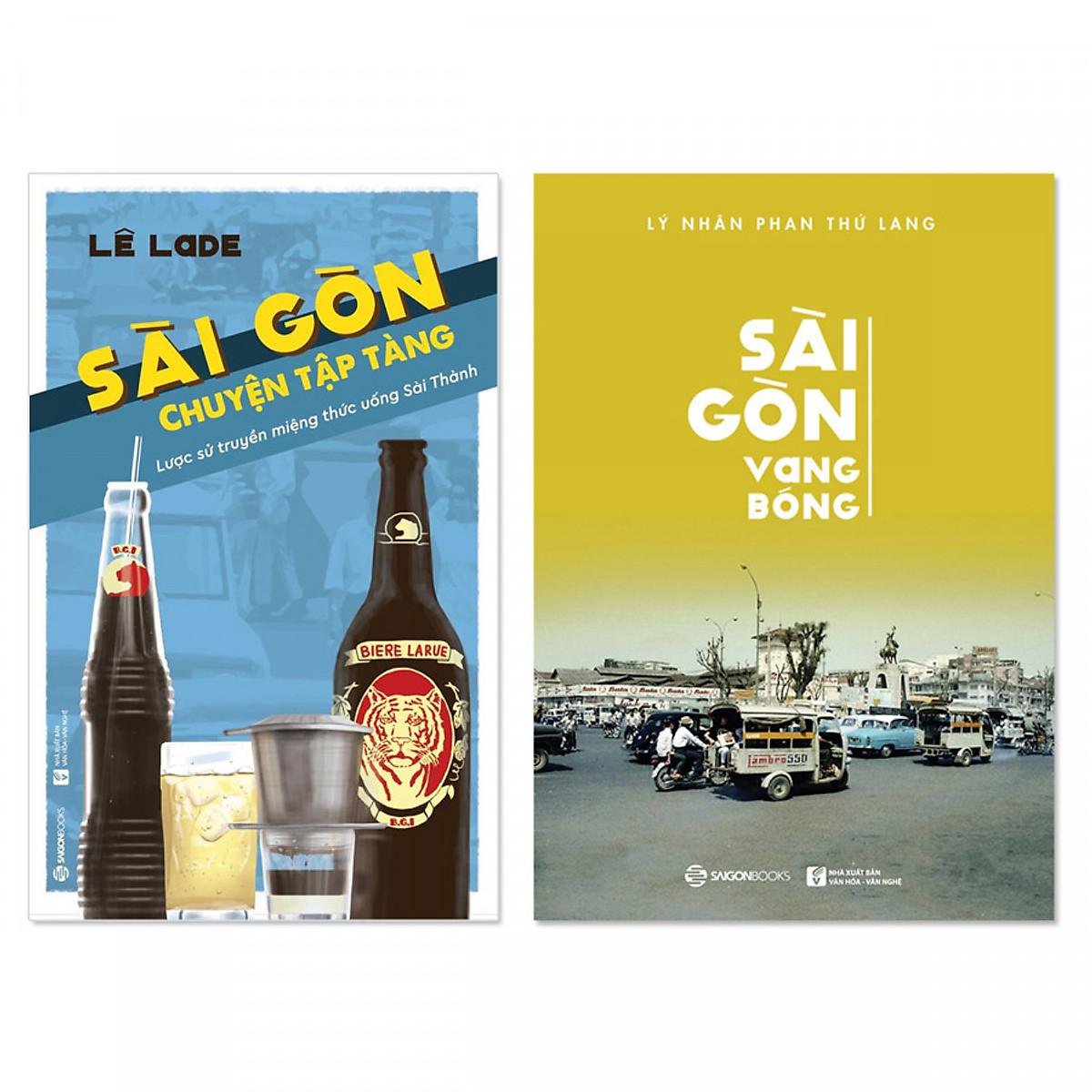 Hình đại diện sản phẩm Combo 2 cuốn: Sài Gòn Vang Bóng, Sài Gòn - Chuyện Tập Tàng