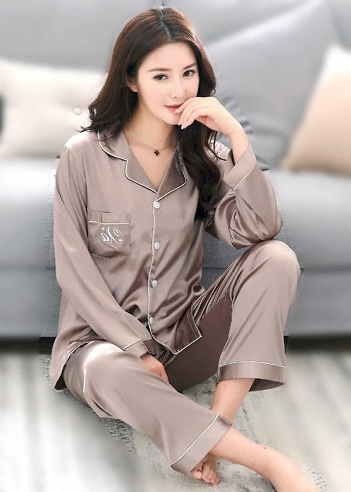 Đồ bộ mặc nhà Nữ chất liệu mềm mại sang chảnh-206 35