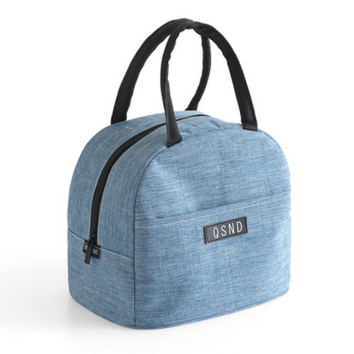 Túi đựng cơm giữ nhiệt vải Oxford cao cấp QSND có khoá kéo | Tiki.vn
