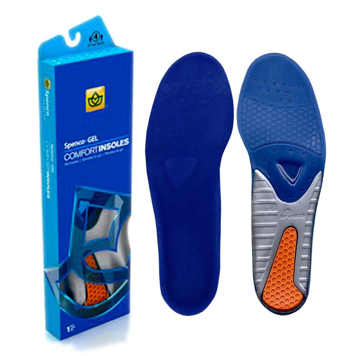 Miếng lót giày hỗ trợ đau gót Spenco Gel Comfort - Mỹ (size 0) - 1