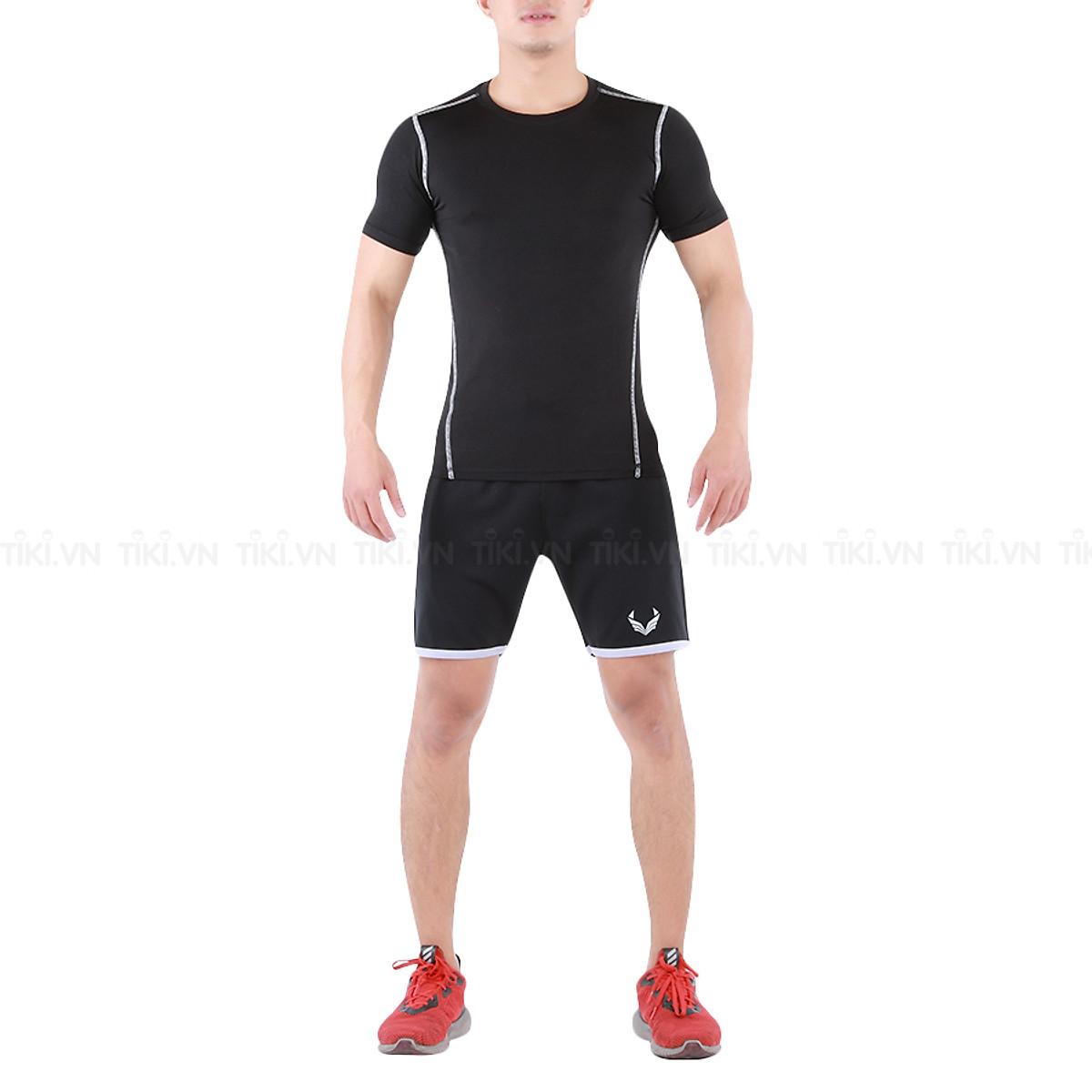 Quần Đùi Training, Tập Gym Nam Unique Apparel Đen
