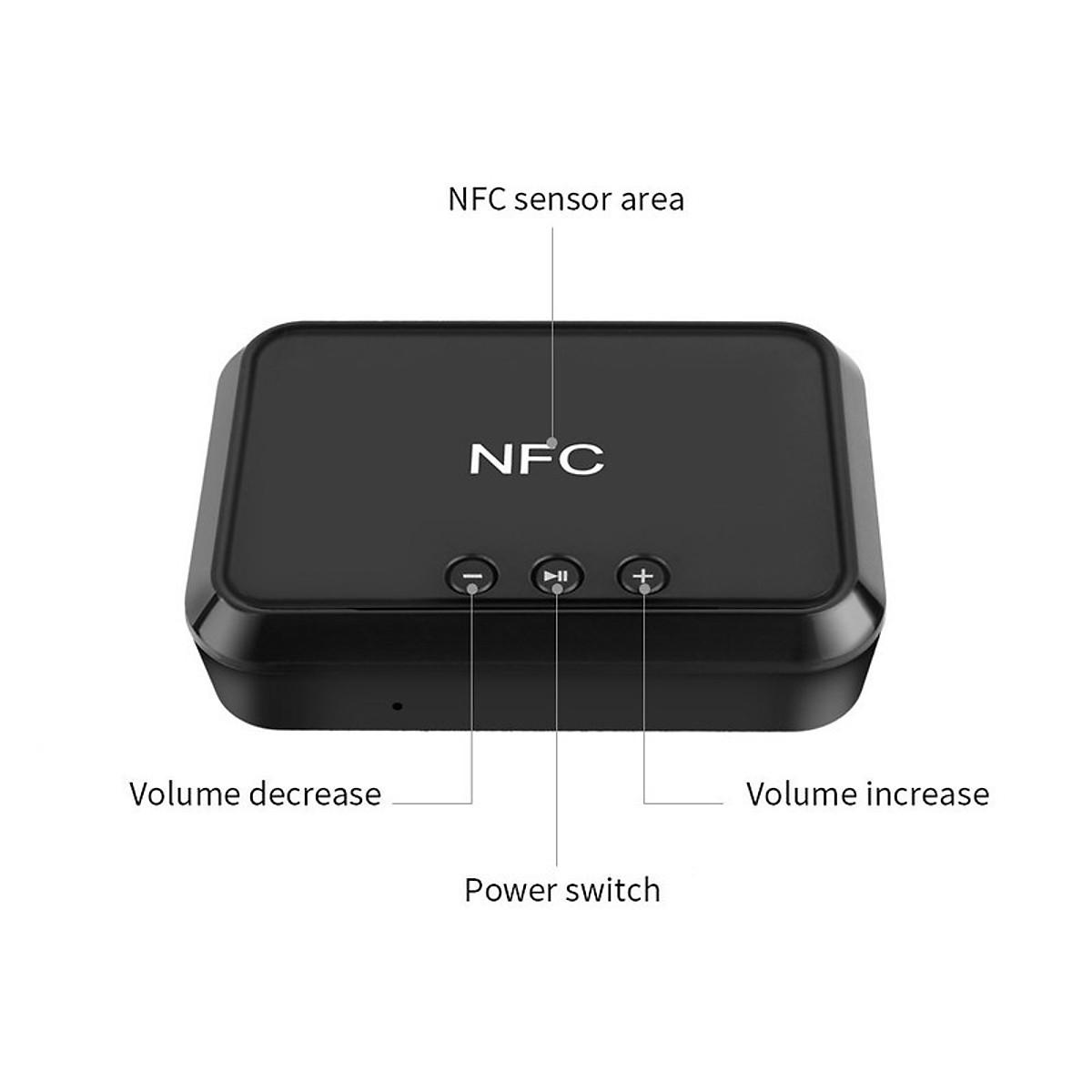 Thiết Bị Nhận Bluetooth Cho Loa và Amply BLS-B10 NFC - 2