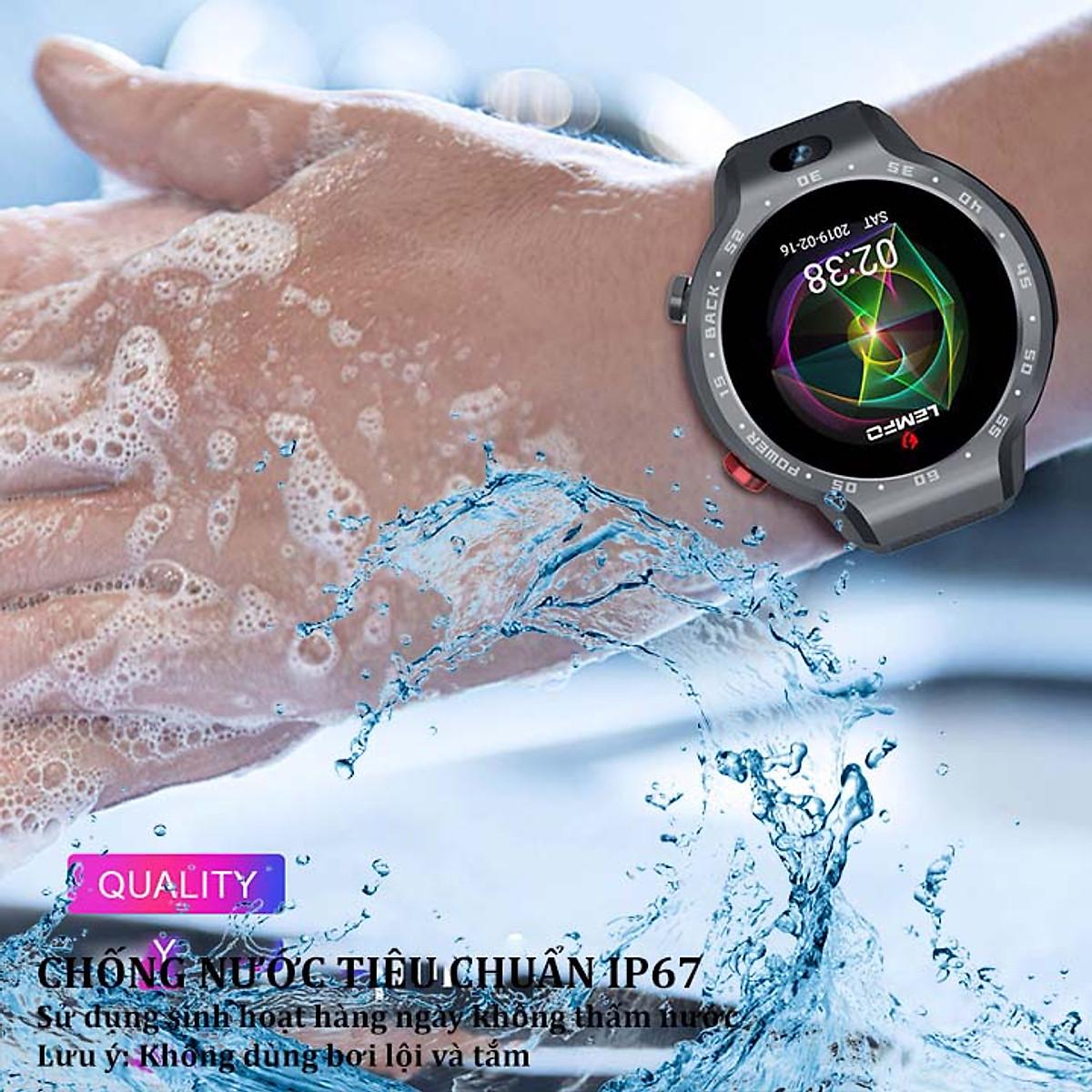 Đồng hồ thông minh gọi điện chống nước Lemfo Lem9 - 3