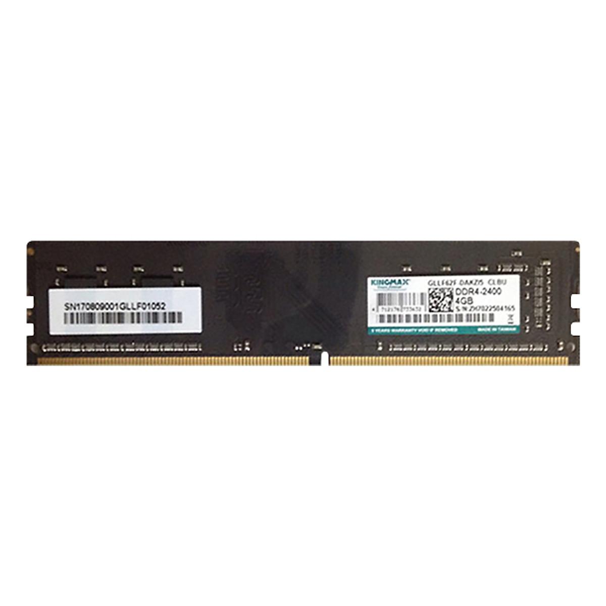 Hình đại diện sản phẩm RAM PC Kingmax 4GB 2400 DDR4 - Hàng Chính Hãng