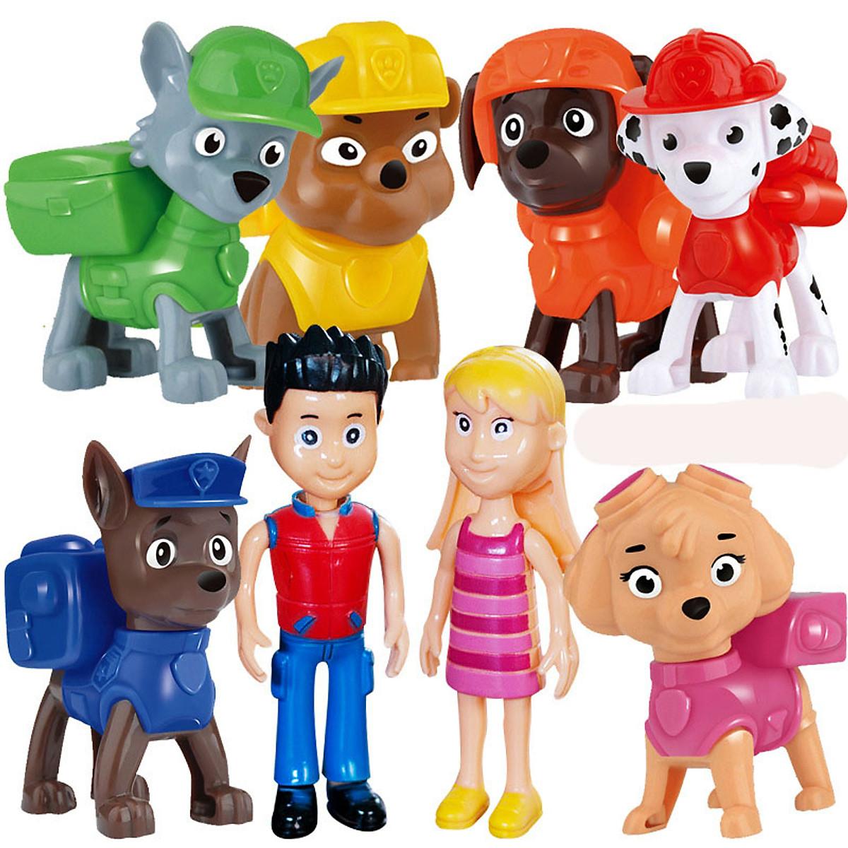 Bộ sưu tập đồ chơi những chú chó cứu hộ
