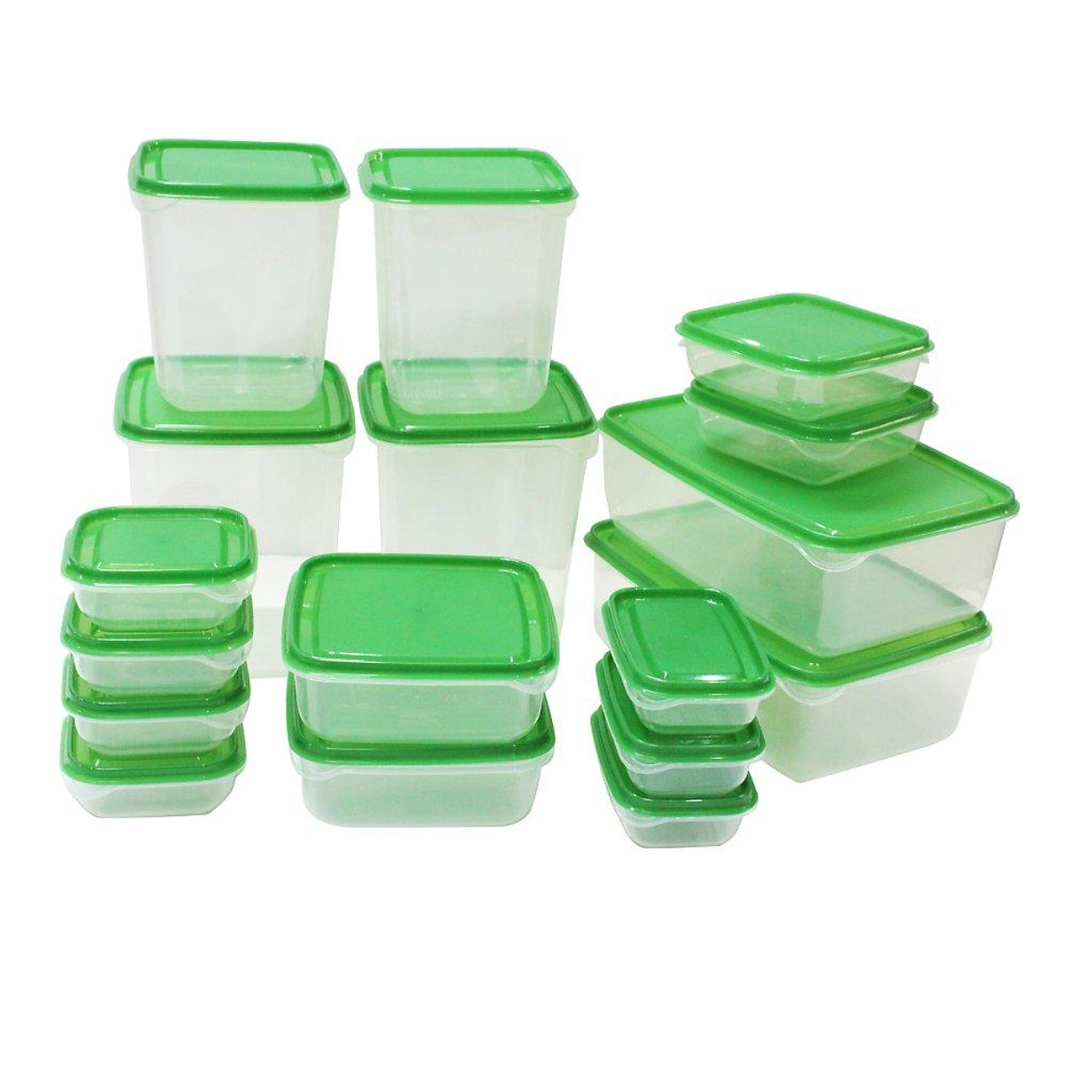 Bộ 17 hộp đựng thực phẩm đa năng- An toàn khi sử dụng | Tiki