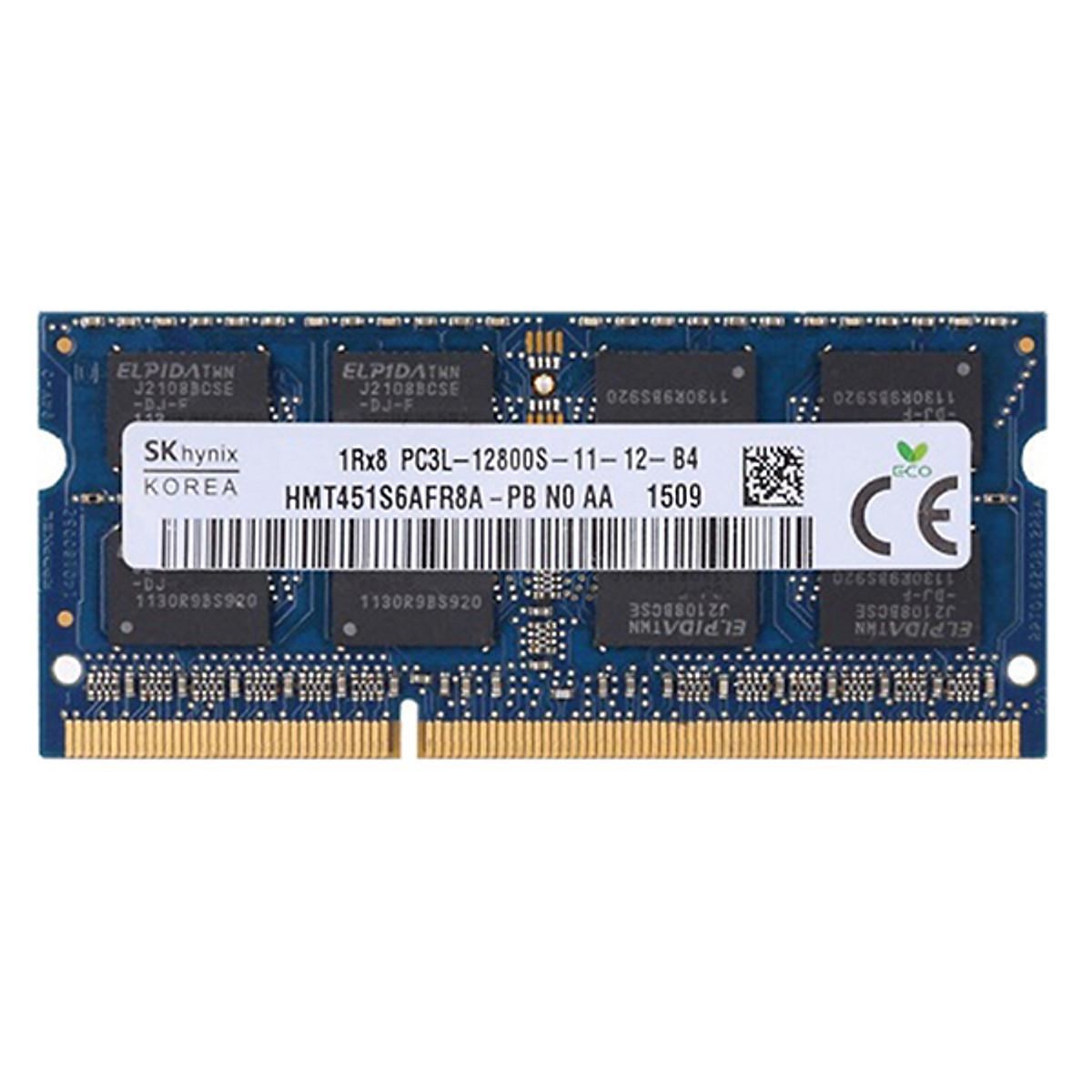 Hình đại diện sản phẩm RAM Laptop Hynix 8GB DDR3L Bus 1600MHz - Hàng Nhập Khẩu