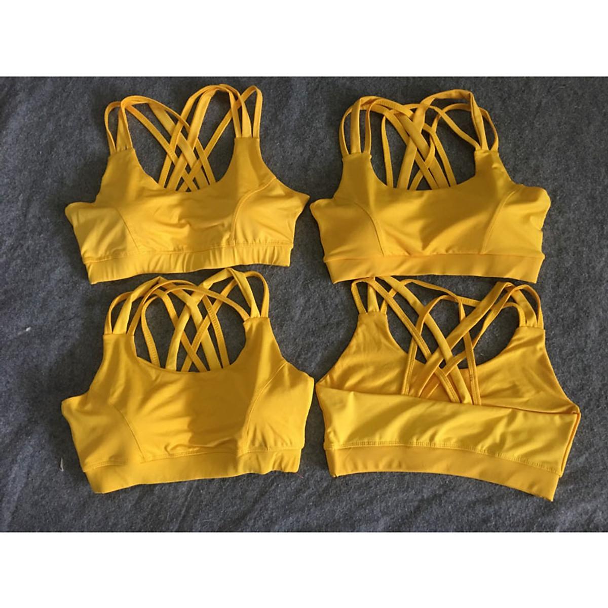 Áo bra tập gym, yoga nữ đan dây chéo lưng MS8