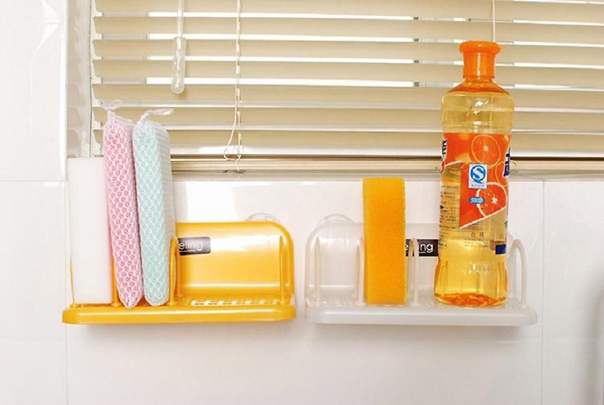 Giá đựng nước rửa chén và miếng bọt rửa chén bát - hàng nội địa Nhật Bản |  Tiki