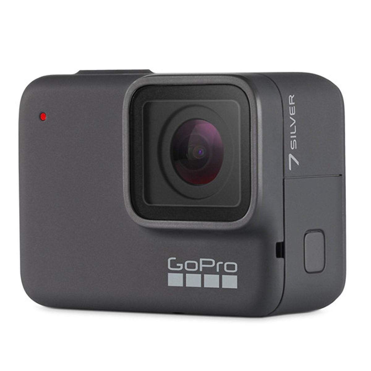 Máy quay GoPro HERO 7 Silver (Hàng chính hãng)