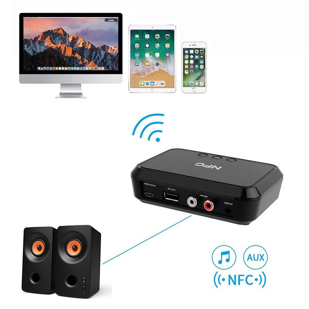 Thiết Bị Nhận Bluetooth Cho Loa và Amply BLS-B10 NFC - 3