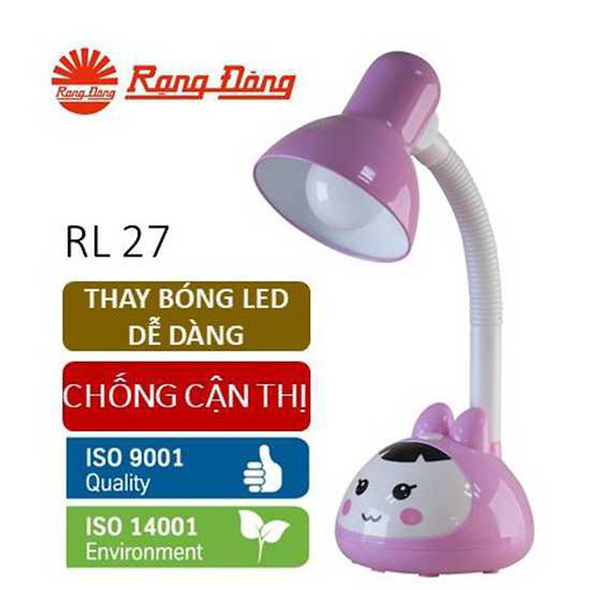 Đèn bàn LED chống cận bảo vệ thị lực Rạng Đông  mã RD-RL-27.LED - 1