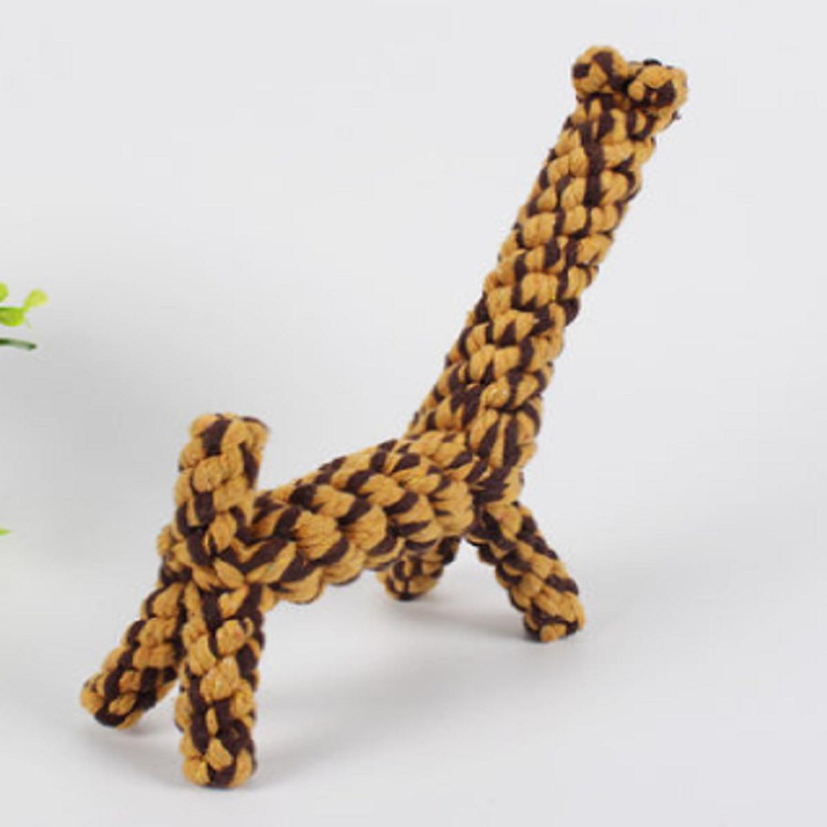 Đồ Chơi Chó Mèo Hình Hươu Cao Cổ (màu ngẫu nhiên)