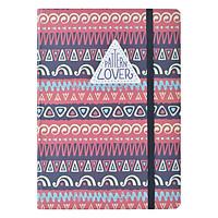 Sổ Tay Crabit Notebuck Pattern Lover - Dotgrid 1550a (20.8 x 14.5 cm)