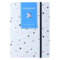 Sổ Tay Crabit Notebuck Pattern Lover - Dotgrid 1552b (20.8 x 14.5 cm)