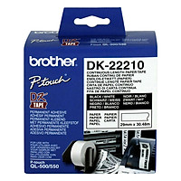Giấy In Nhãn Liên Tục Brother DK-22210 (29mm x 30m) - Hàng chính hãng