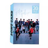 Bộ lomo card WANNA ONE mẫu mới nhất - Chonmua365
