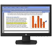 Màn hình vi tính HP V194 18.5-inch Monitor - Hàng Chính Hãng - Tứ Gia computer