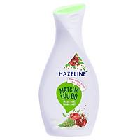 Sữa Dưỡng Thể Hazeline Dưỡng Trắng Da Matcha Lựu Đỏ 67183404 (140ml)