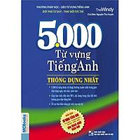 5000 Từ Vựng Tiếng Anh Thông Dụng Nhất (Tặng Thẻ Flashcard Động Từ Bất Quy Tắc Trong Tiếng Anh) (Học Kèm App: MCBooks Application) - Kho sách